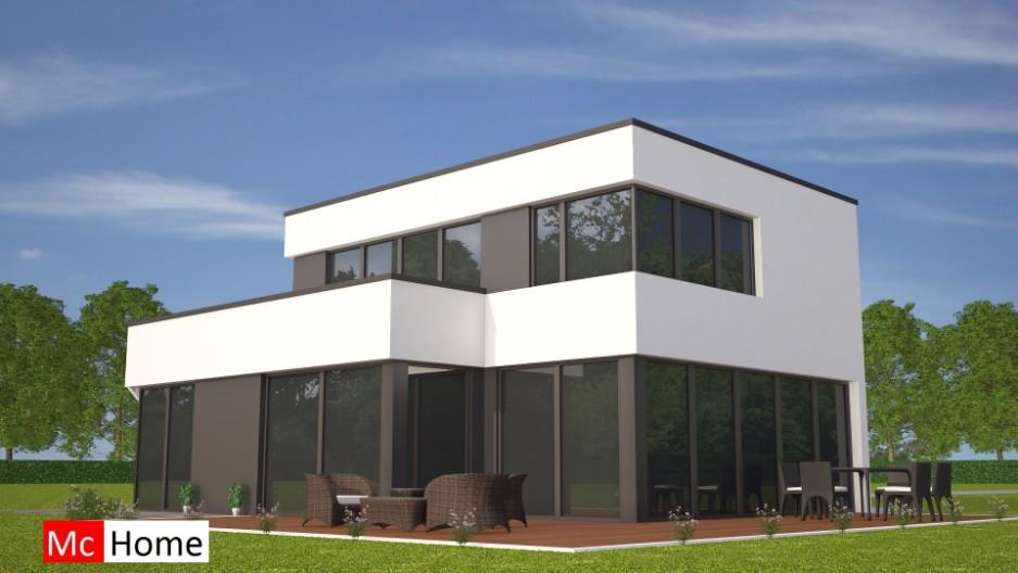 Kubistische woningontwerpen mchome for Woningen moderne villa