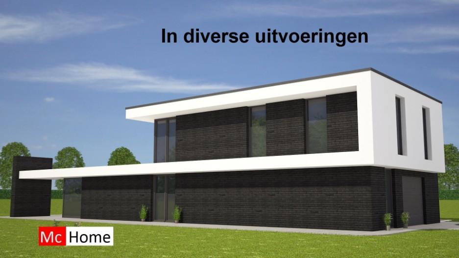 Kubistische woningontwerpen mchome for Moderne strakke huizen
