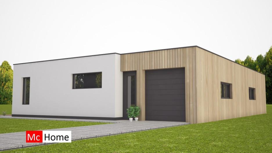 Nieuwe moderne bungalow met plat dak bouwen b46 mchome for Energieneutraal bouwen