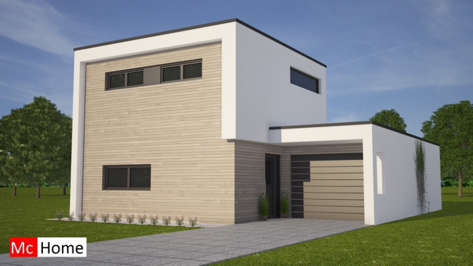 Moderne woning met verdieping m87 mchome - Moderne verdieping ...