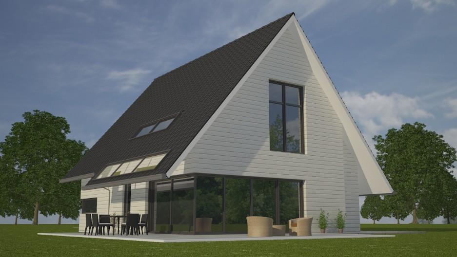 Mc landhuizen mchome - Modern stijl huis ...