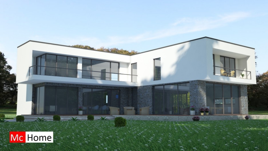 Kubistische woningontwerpen mchome - Moderne verdieping ...