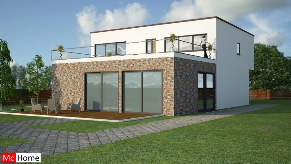 Kubistisch m3 mchome - Moderne uitbreiding huis ...