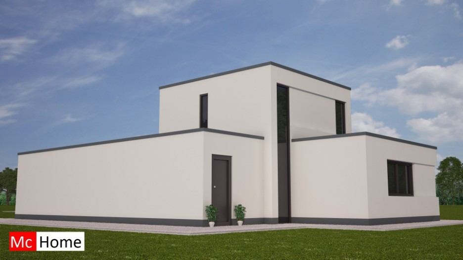 Moderne energieneutrale woning bouwen mc m81 mchome - Moderne verdieping ...