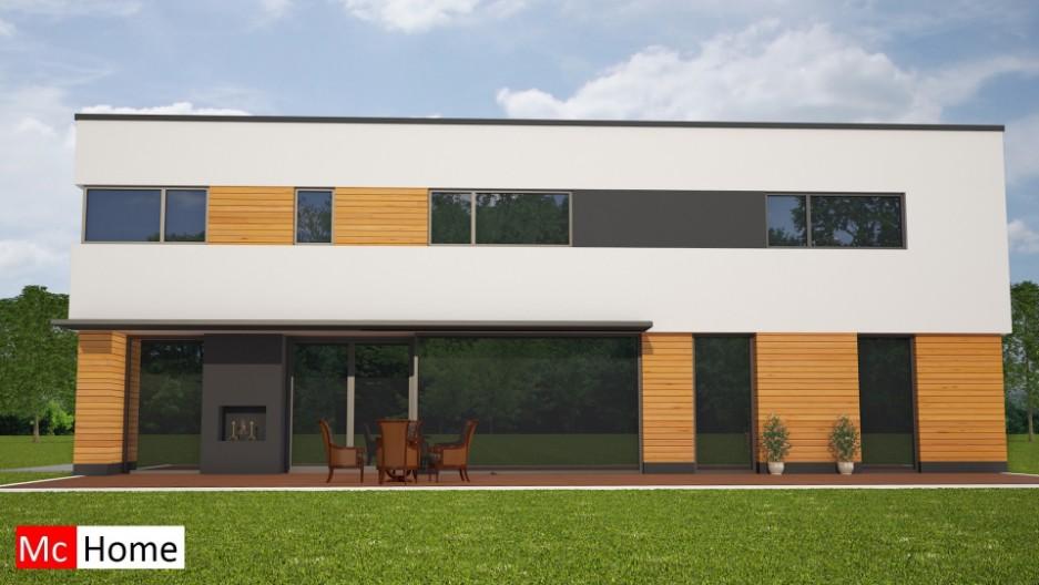mc home homenl m82 moderne villa bouwen met plat dak en veel glas passief depot bgc map