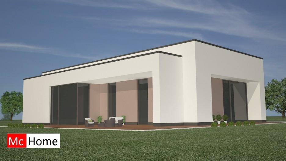 Moderne bungalow b20 mchome - Moderne buitenkant indeling ...