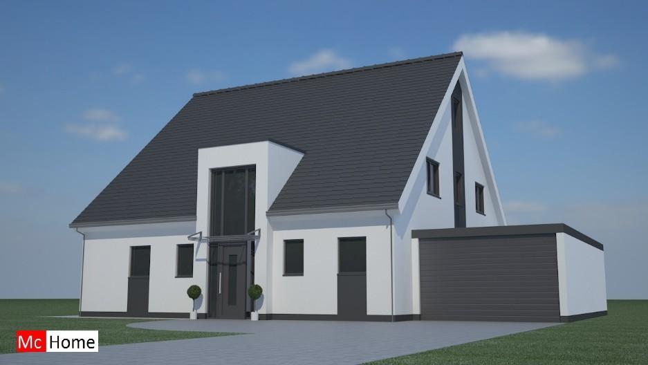 Kapwoningen mchome - Moderne huis op een helling ...