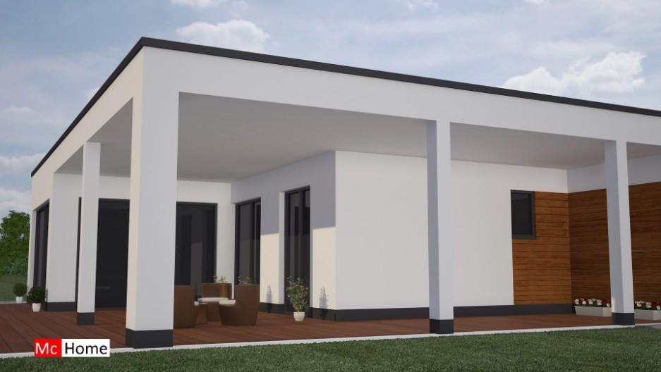 Finest mchomenl b moderne bungalow woning bouwen met groot for Goedkoop huis laten bouwen