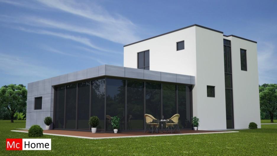 Moderne bungalow b21 mchome for Nieuwe woning bouwen