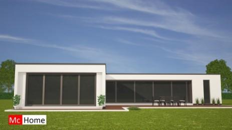 Moderne bungalow bouwen stunning mc home m moderne for Moderne semi bungalow bouwen
