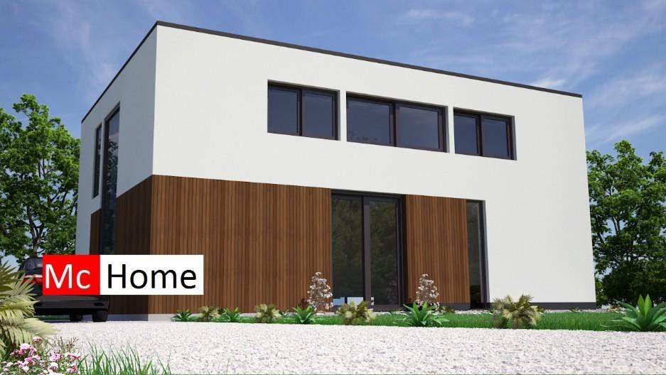 Kubistisch m2 mchome - Bungalow ontwerp hout ...