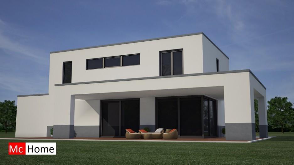 Moderne kubistische villa in staalframebouw m24 mchome for Moderne bouw