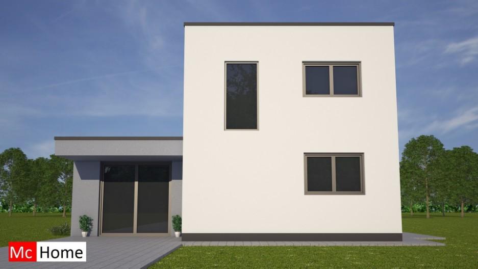 Moderne bungalow met verdieping m83 mchome - Hoe een overdekt terras te bouwen ...