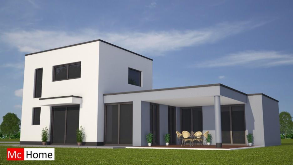 Moderne bungalow met verdieping m83 mchome - Moderne uitbreiding huis ...