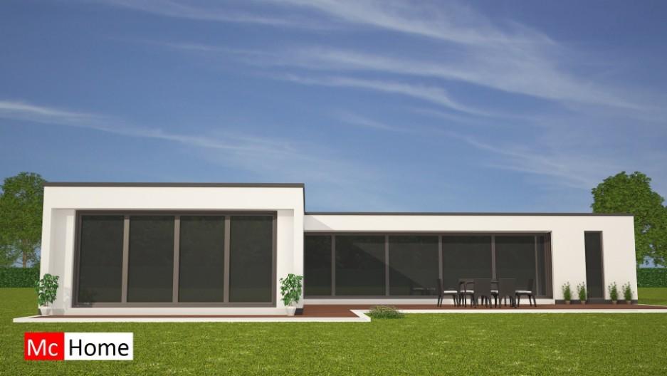 Moderne bungalow onder architectuur bouwen b28 mchome - Moderne buitenkant indeling ...