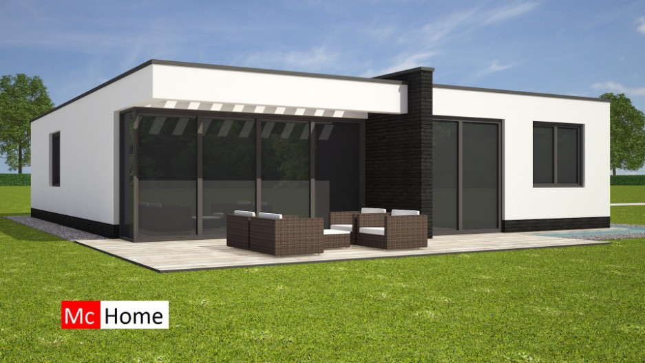 Bungalow mchome for Moderne laagbouw woningen