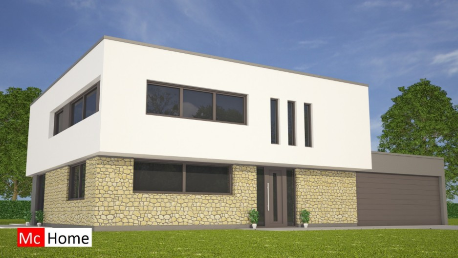 Kubistische woningontwerpen mchome - Moderne huis gevel ...