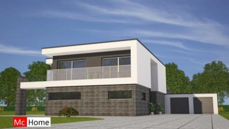 Gallery of moderne villa onder bouwen eigentijds ontwerp for Zelf woning bouwen prijzen